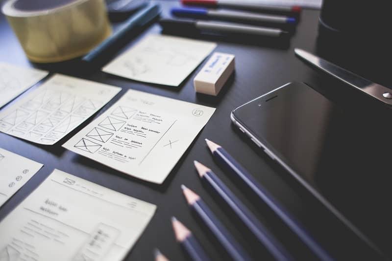 Travail d'UX designer - EccoWeb